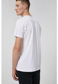 medicine - Medicine - T-shirt bawełniany Basic. Kolor: biały. Materiał: bawełna. Wzór: gładki