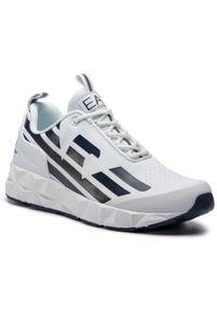 Białe sneakersy EA7 Emporio Armani