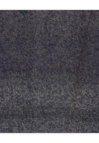 Mr & Mrs Italy - MR & MRS ITALY - Szara koszula. Okazja: na co dzień. Kolor: szary. Materiał: bawełna. Wzór: aplikacja. Styl: klasyczny, casual