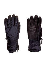 Czarna rękawiczka sportowa Bogner na zimę, narciarska