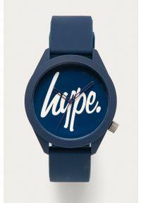 Hype - Zegarek HYG001U. Kolor: niebieski. Materiał: tworzywo sztuczne, materiał