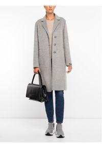 Szary płaszcz zimowy Sportmax Code