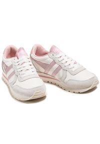 Gola - Sneakersy GOLA - Daytona Glitter CLB205 White/Light Pink. Okazja: na co dzień. Kolor: biały. Materiał: skóra, zamsz. Sezon: lato. Styl: elegancki, sportowy, casual