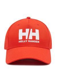 Czerwona czapka z daszkiem Helly Hansen