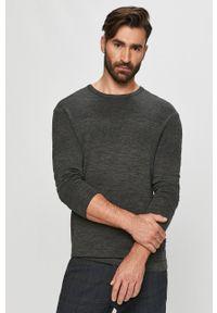Tailored & Originals - Sweter. Okazja: na co dzień. Kolor: szary. Materiał: dzianina. Długość rękawa: długi rękaw. Długość: długie. Styl: casual