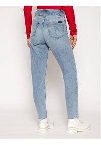 Niebieskie boyfriendy Calvin Klein Jeans