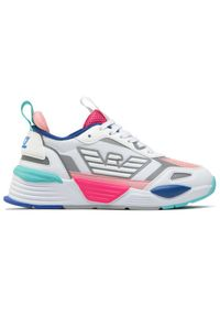 Białe buty sportowe EA7 Emporio Armani