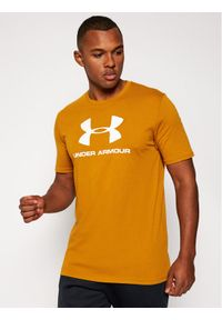 Brązowy t-shirt Under Armour