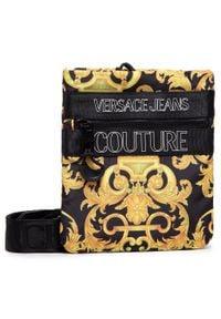 Versace Jeans Couture - Saszetka VERSACE JEANS COUTURE - E1YWABA5 71896 899+901. Kolor: żółty, wielokolorowy, czarny. Materiał: materiał