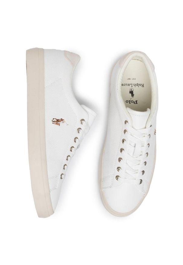 Białe sneakersy Polo Ralph Lauren