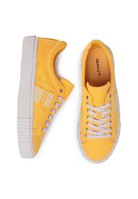 GANT - Gant Sneakersy Faircourt 20638487 Żółty. Kolor: żółty