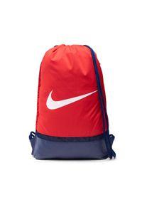 Nike Worek BA5338 Czerwony. Kolor: czerwony