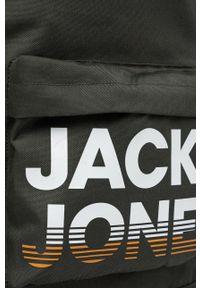 Jack & Jones - Plecak. Kolor: szary. Wzór: nadruk