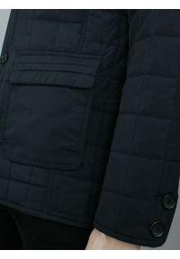 Niebieska kurtka Gustaff z klasycznym kołnierzykiem, klasyczna, na jesień