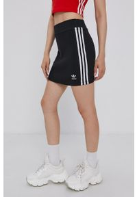 adidas Originals - Spódnica. Okazja: na co dzień. Kolor: czarny. Styl: casual