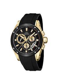 Czarny zegarek Jaguar