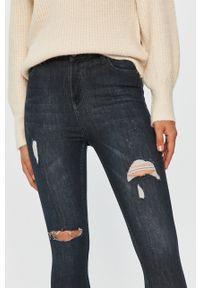 Niebieskie jeansy Answear Lab wakacyjne, w kolorowe wzory #5