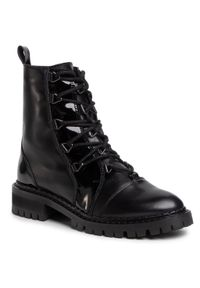 Czarne buty trekkingowe Eva Longoria