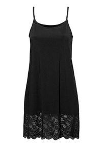 Czarna piżama Cellbes w koronkowe wzory