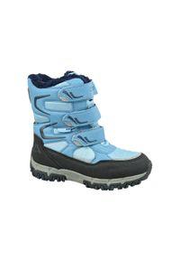 Buty trekkingowe Kappa w kolorowe wzory, z cholewką, na zimę
