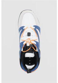 Sisley - Buty. Nosek buta: okrągły. Zapięcie: sznurówki. Materiał: guma