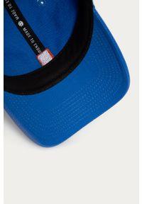 Niebieska czapka z daszkiem Element gładkie