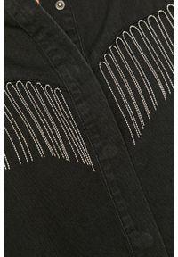 Czarna koszula AllSaints klasyczna, na co dzień