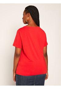 Czerwony t-shirt Persona by Marina Rinaldi