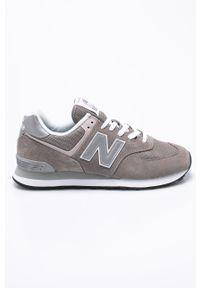 Szare sneakersy New Balance z cholewką, New Balance 574