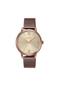 Złoty zegarek Casio