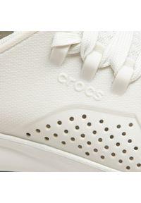 Białe półbuty Crocs