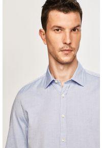 Niebieska koszula Marc O'Polo polo, elegancka, długa
