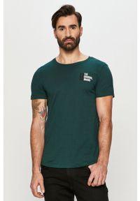 Zielony t-shirt Tom Tailor na co dzień, casualowy