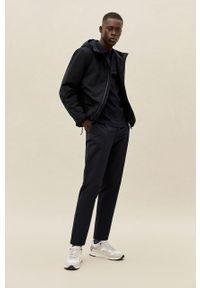 Czarna kurtka Mango Man z kapturem, casualowa, na co dzień #9