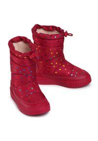 Różowe buty zimowe Bibi z cholewką