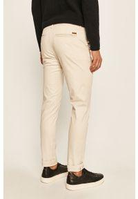 Kremowe spodnie Jack & Jones casualowe, na co dzień