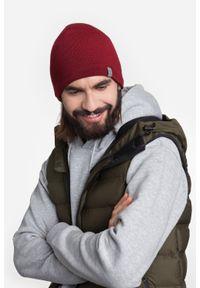 Zimowa czapka męska PaMaMi - Granatowa mulina. Kolor: niebieski. Materiał: akryl. Sezon: zima. Styl: młodzieżowy, klasyczny
