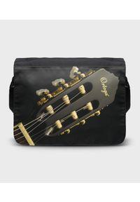 MegaKoszulki - Torba na ramię duża Guitar 2. Wzór: paski, nadruk