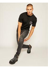 Czarny t-shirt Calvin Klein z nadrukiem