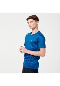 KALENJI - Koszulka Do Biegania Dry+ Męska. Materiał: poliester, materiał, elastan