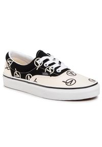 Białe buty sportowe Vans Vans Era, z cholewką