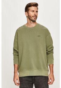 Levi's® - Levi's - Bluza. Okazja: na co dzień, na spotkanie biznesowe. Kolor: zielony. Wzór: aplikacja. Styl: casual, biznesowy