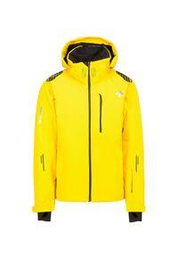 Żółta kurtka narciarska Descente Thinsulate