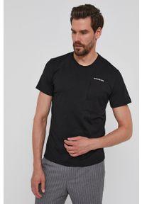 Calvin Klein Jeans - T-shirt. Okazja: na co dzień. Kolor: czarny. Styl: casual