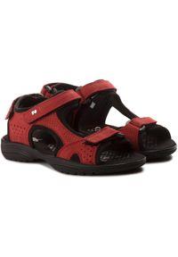 Czerwone sandały Nik na co dzień, casualowe #7