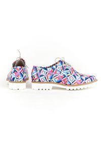Półbuty Zapato na sznurówki, na lato, klasyczne, wąskie