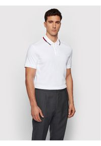 BOSS - Boss Polo Parlay 104 50448657 Biały Regular Fit. Typ kołnierza: polo. Kolor: biały