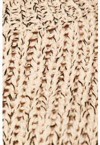 Sweter medicine melanż, z okrągłym kołnierzem #5