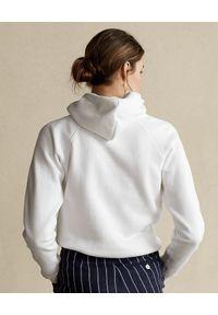 Ralph Lauren - RALPH LAUREN - Biała bluza z kapturem. Okazja: na co dzień. Typ kołnierza: kaptur. Kolor: biały. Materiał: jeans, bawełna. Wzór: napisy, nadruk. Sezon: wiosna. Styl: casual, klasyczny #2