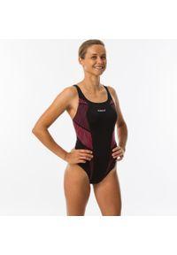 NABAIJI - Strój jednoczęściowy pływacki Kamiye Seam damski. Kolor: wielokolorowy, różowy, czarny. Materiał: poliamid, materiał, poliester. Długość: długie